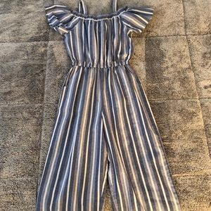 BEBE Girls stripe Jumper size L, 14